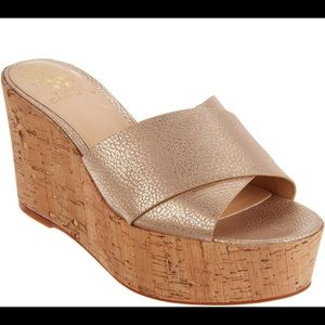 Vince Camuto Kessina Platform Wedge Sandal